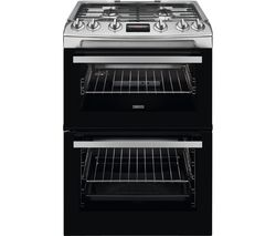 ZANUSSI ZCG63260XE 60 cm Gas Cooker - Stainless Steel
