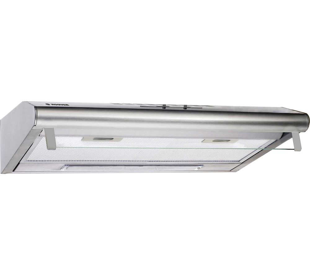 HFT600X Visor Cooker Hood - Stainless Steel, Stainless Steel
