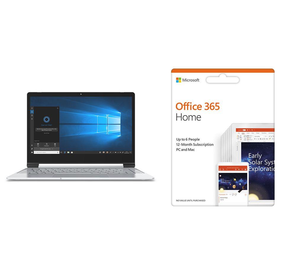 "GEO Book3X 13.3"" Intel® Pentium™ Laptop & Office 365 Home Bundle"