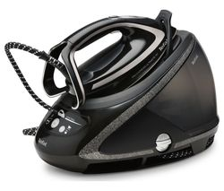 TEFAL Pro Express Ultimate + GV9610 High Pressure Steam Generator Iron - Black