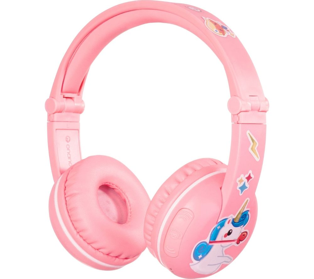 ONANOFF BuddyPhones Play Wireless Bluetooth Kids Headphones - Pink
