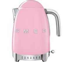 SMEG 50's Retro Style KLF04PKUK Jug Kettle - Pink