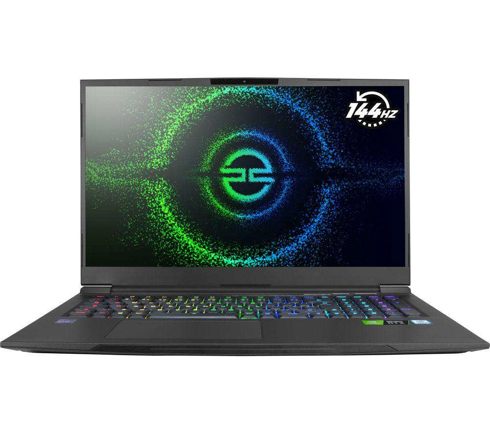 "PC SPECIALIST Recoil III RT17 17.3"" Gaming Laptop - Intel® Core™ i7, RTX 2060, 1 TB HDD & 256 GB SSD"