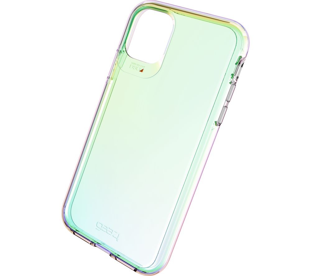 Image of Crystal Palace iPhone 11 Clear View Case - Iridescent, Transparent