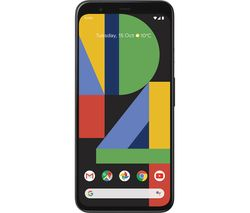 GOOGLE Pixel 4 - 64 GB, Just Black