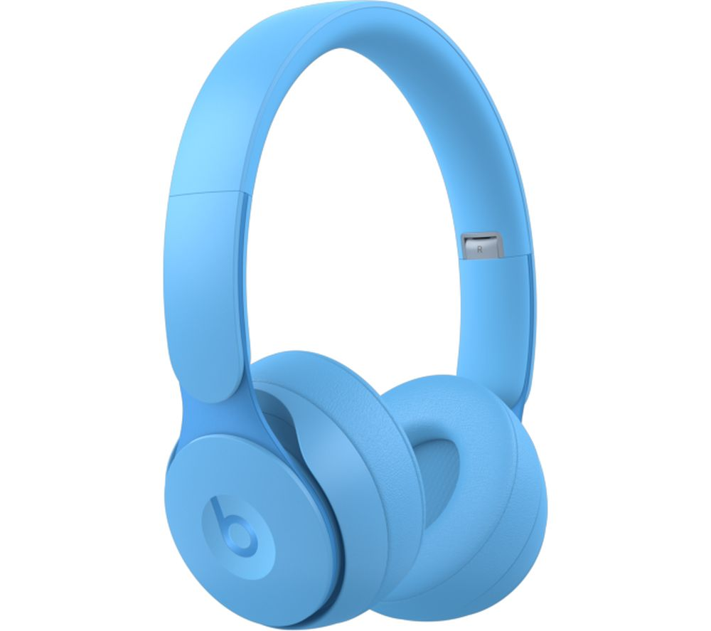 BEATS Solo Pro Wireless Bluetooth Noise-Cancelling Headphones - Matte Light Blue