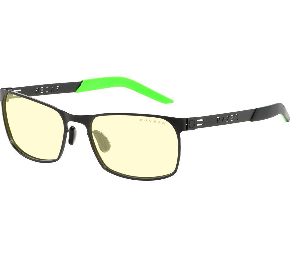 GUNNAR Razer FPS Gaming Glasses - Amber & Onyx
