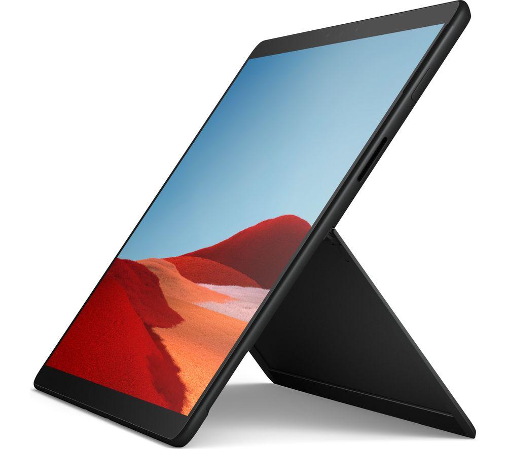"MICROSOFT 13"" SQ1 Surface Pro X - 128 GB SSD, Black"