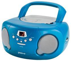 Original Boombox GV-PS733 Portable FM/AM Boombox - Blue