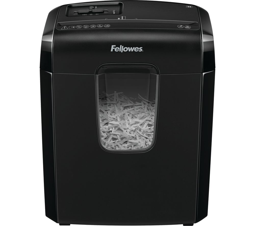 Fellowes Powershred 3C Cross Cut Paper Shredder