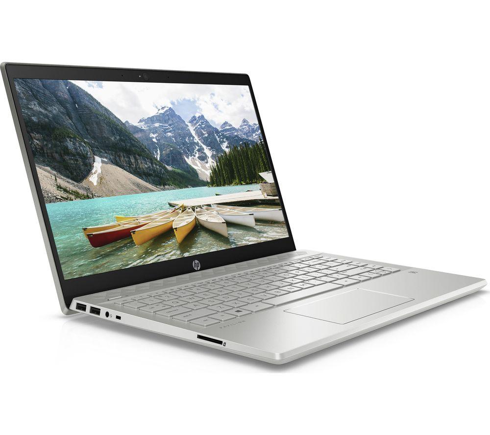 "Image of HP Pavilion 14-ce3600sa 14"" Laptop - Intel®Core™ i3, 256 GB, Silver, Silver"