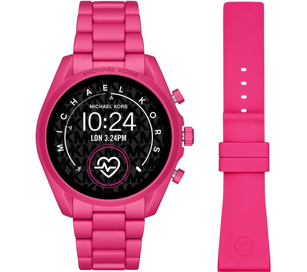 Image of MICHAEL KORS Access Bradshaw 2 MKT5099 Smartwatch - 44 mm, Pink, Pink