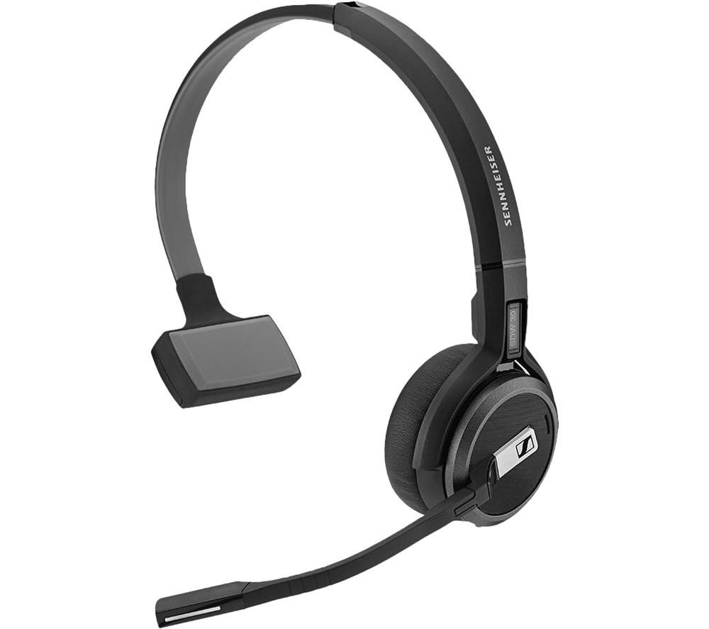 Image of SENNHEISER Impact SDW 5034 UK Wireless Headset - Black, Black