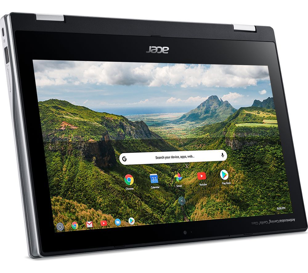 """Image of ACER Spin 311 11.6"""" 2 in 1 Chromebook - 32 GB eMMC, Silver, Silver"""