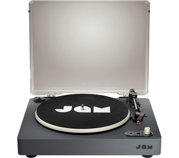JAM Spun Out HX-TT400-BK Belt Drive Bluetooth Turntable - Black