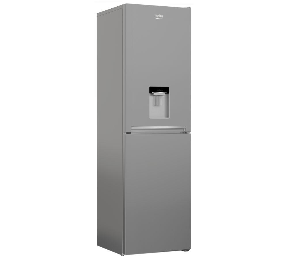 BEKO CFG3582DS 50/50 Fridge Freezer - Silver, Silver