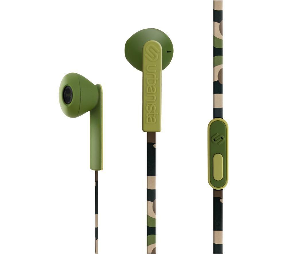 URBANISTA San Francisco Earphones - Camo Green