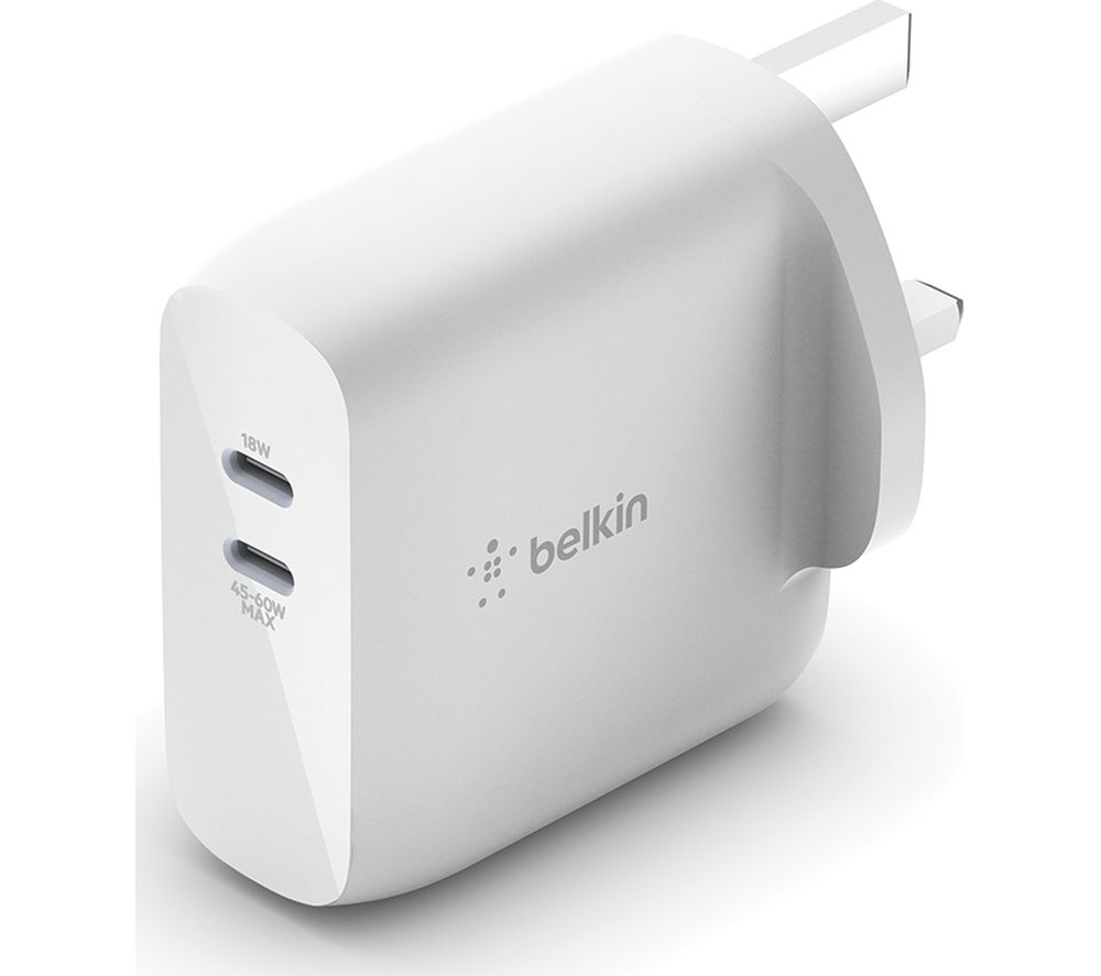 BELKIN 63 W Dual USB-C Wall Charger