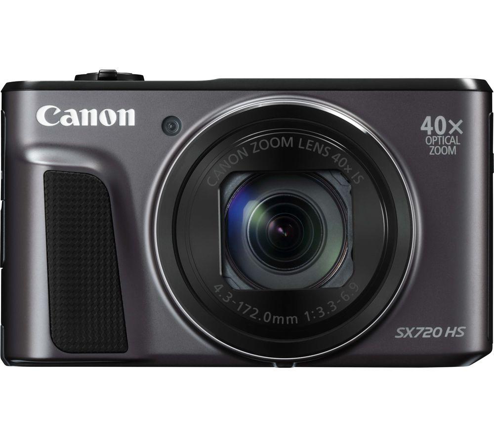 CANON PowerShot SX720 HS Superzoom Compact Camera - Black