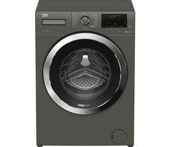 Aquatech WEX94064E0G Bluetooth 9 kg 1400 Spin Washing Machine - Graphite