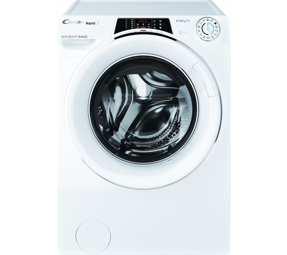 CANDY Rapido RO16104DWMCE WiFi-enabled 10 kg 1600 Spin Washing Machine - White