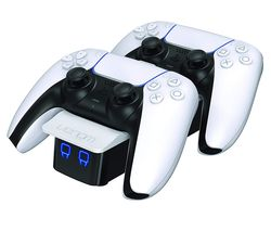 VS5001 PlayStation 5 Twin Docking Station - White
