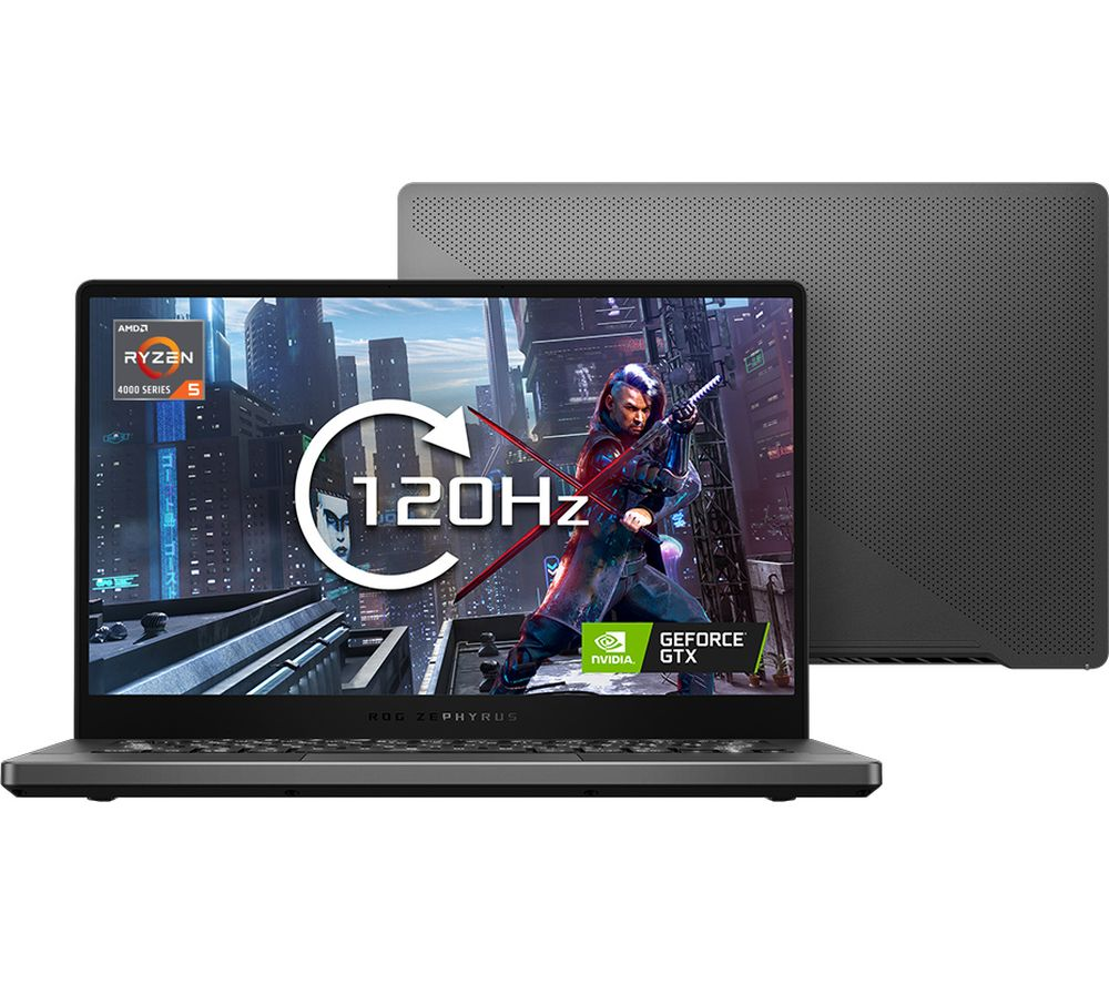 """ASUS ROG Zephyrus G14 14"""" Gaming Laptop - AMD Ryzen 5, GTX 1650 Ti, 1 TB SSD"""
