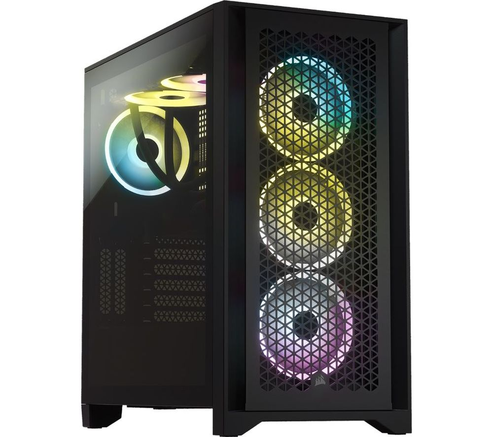 Image of CORSAIR 4000D AIRFLOW Tempered Glass ATX Mid-Tower PC Case - Black, Black