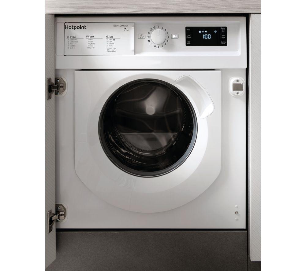 HOTPOINT BI WMHG 71483 UK N Integrated 7 kg 1400 Spin Washing Machine