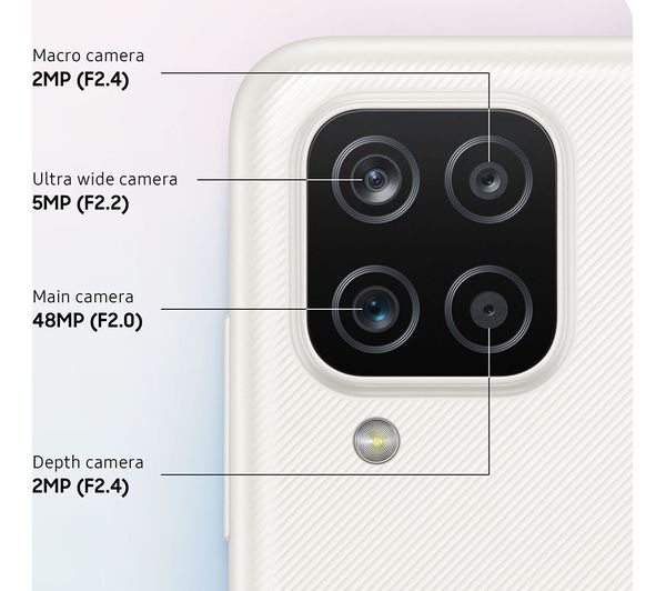 Samsung Galaxy A12 - 64 GB, White 6