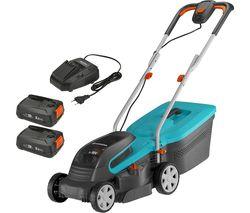 PowerMax 32/36V P4A Cordless Rotary Lawn Mower - Blue & Black