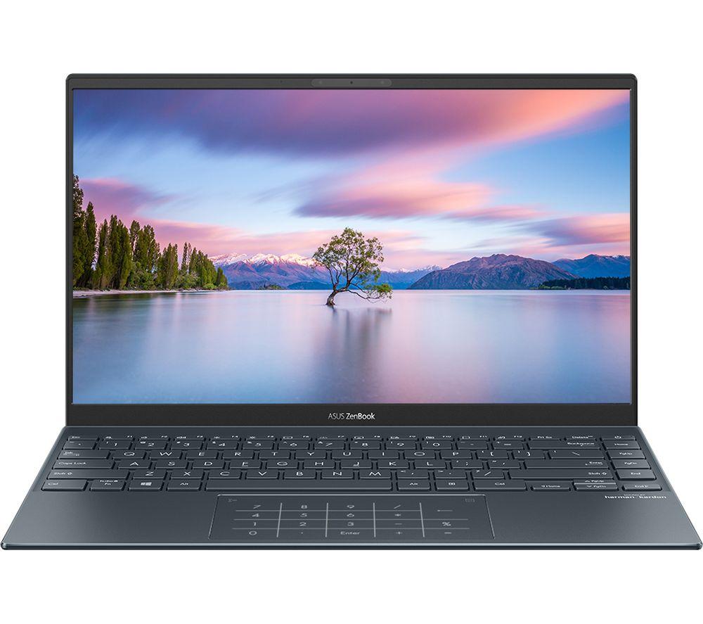 "Image of ASUS ZenBook UX425EA 14"" Laptop - Intel®Core i3, 256 GB SSD, Grey, Grey"