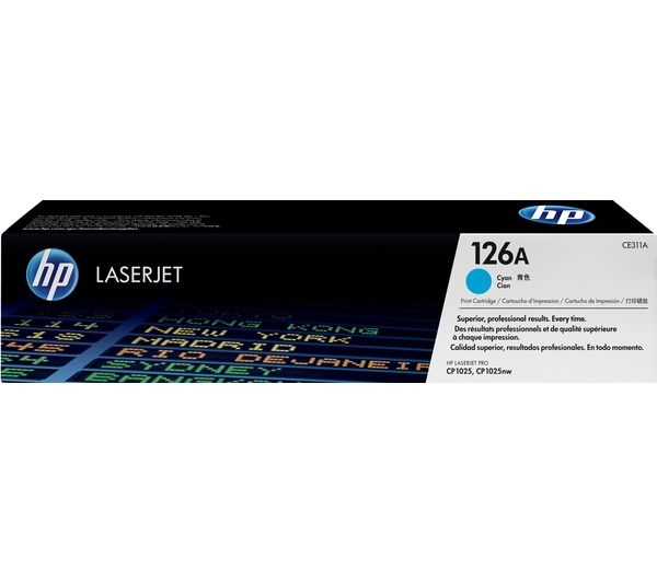 HP 126A Cyan Toner Cartridge