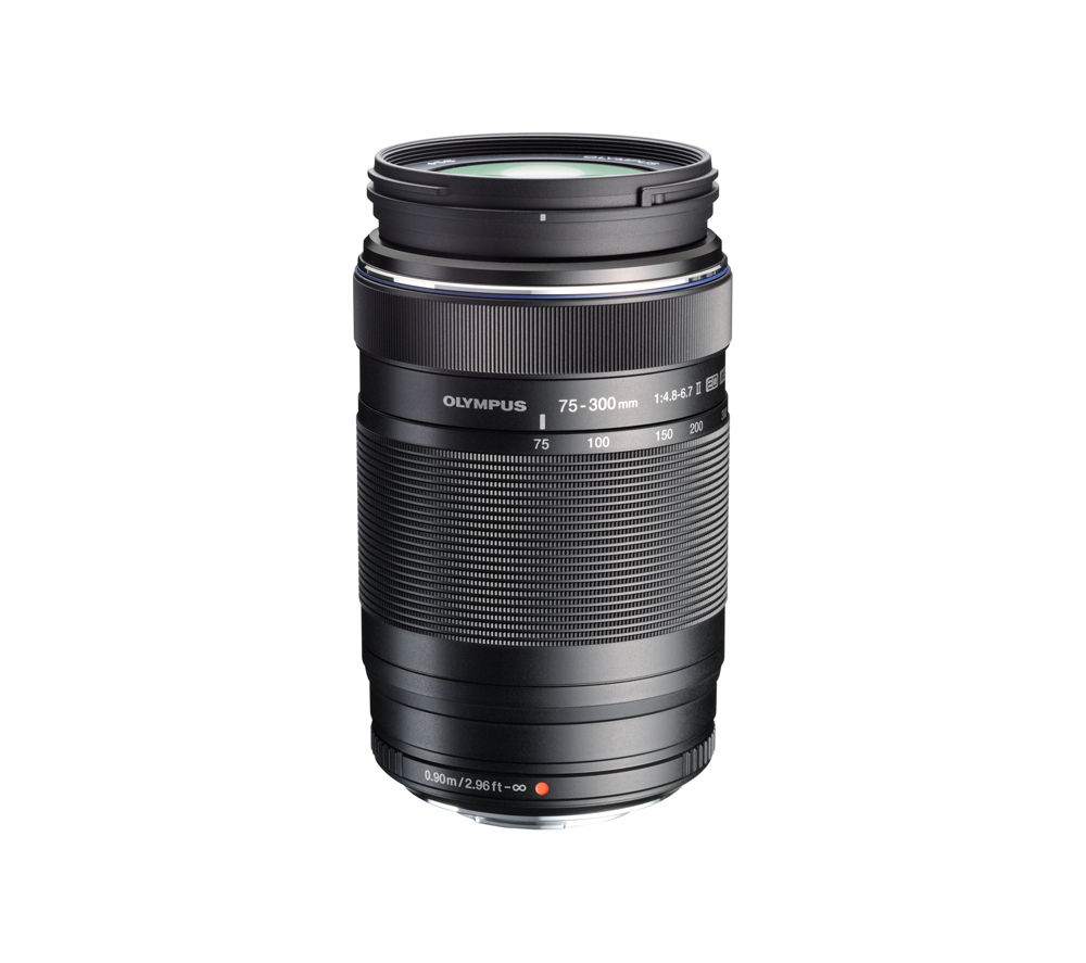 Compare retail prices of Olympus M.ZUIKO DIGITAL ED 75-300 mm f/4.8-6.7 II Telephoto Zoom Lens to get the best deal online