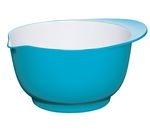 COLOURWORKS 24 cm Mixing Bowl - Blue & White