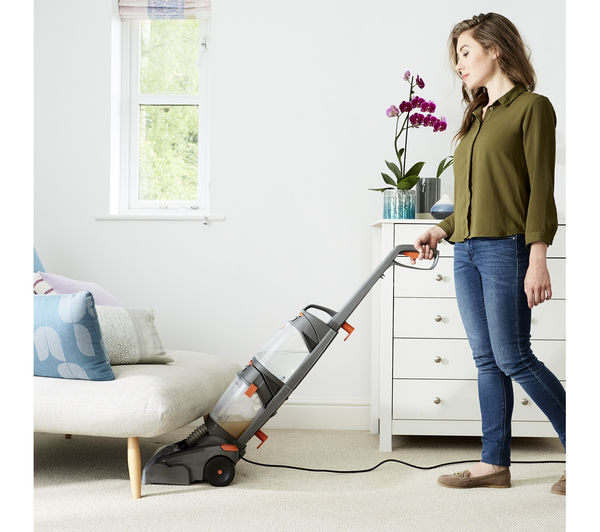 Buy Vax W86 Dp B Dual Power Upright Carpet Cleaner Grey