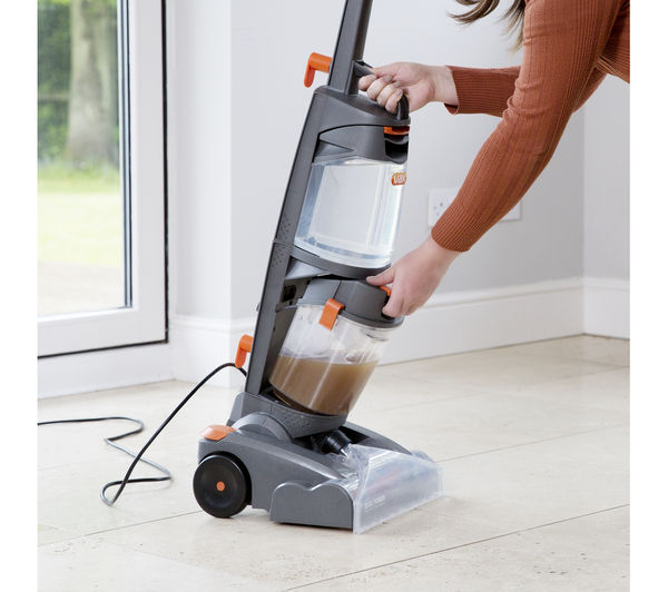 Buy Vax W86 Dp B Dual Power Upright Carpet Cleaner Grey Orange Free Delivery Currys