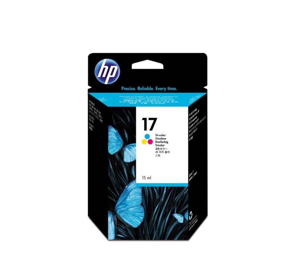 Image of HP 17 Tri-colour Ink Cartridge