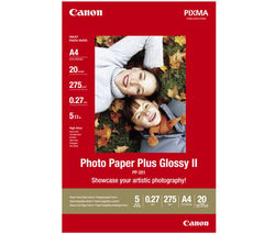 A4 Glossy Photo Paper - 20 Sheets