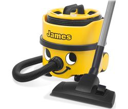 NUMATIC James JVP180-A1 Cylinder Vacuum Cleaner - Yellow