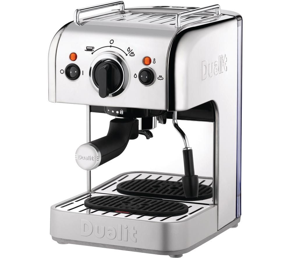 DUALIT D3IN1SS 3-in-1 Coffee Machine – Stainless Steel