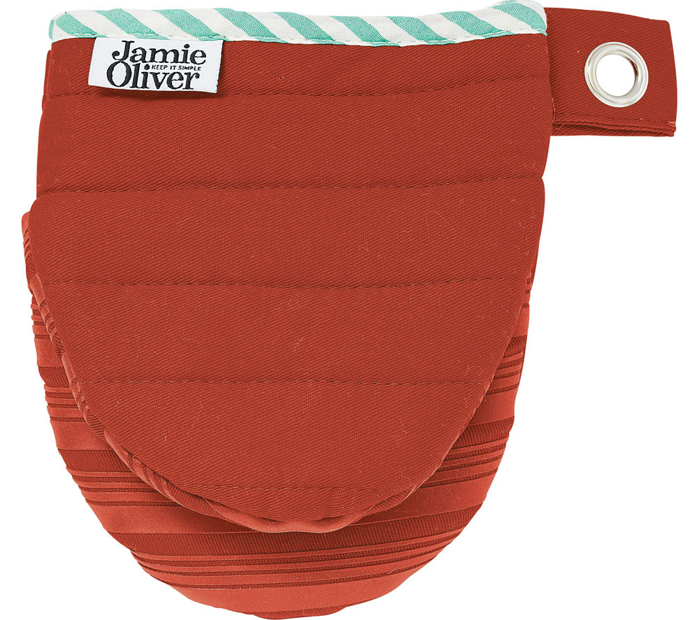 JAMIE OLIVER Silicone Mini Mitts - Red