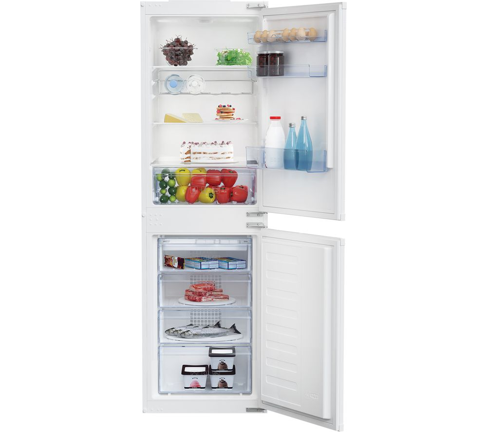 Compare retail prices of Beko BCFD150 Integrated Fridge Freezer to get the best deal online
