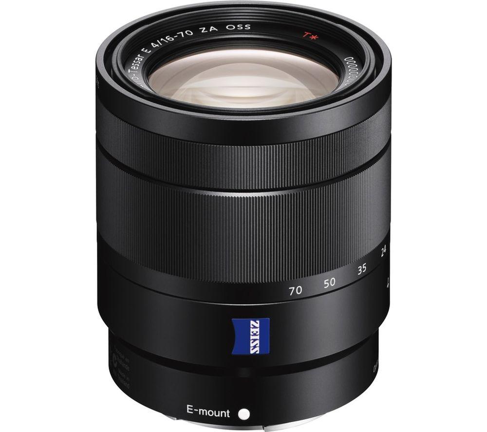 SONY Vario-Tessar T* E 16-70 mm f/4 ZA OSS Wide-angle Zoom Lens