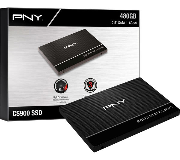Pny Cs900 2 5 Internal Ssd 480 Gb Fast Delivery Currysie