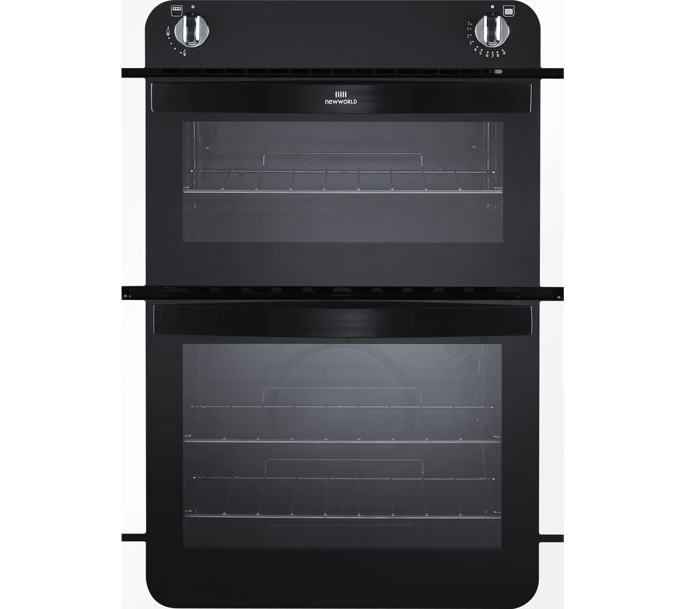 NEW WORLD NW901G Gas Oven - White & Black