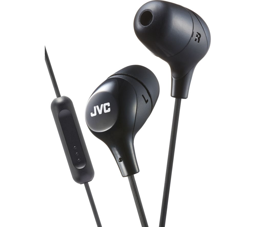 JVC HA-FX38M-B-E Headphones - Black