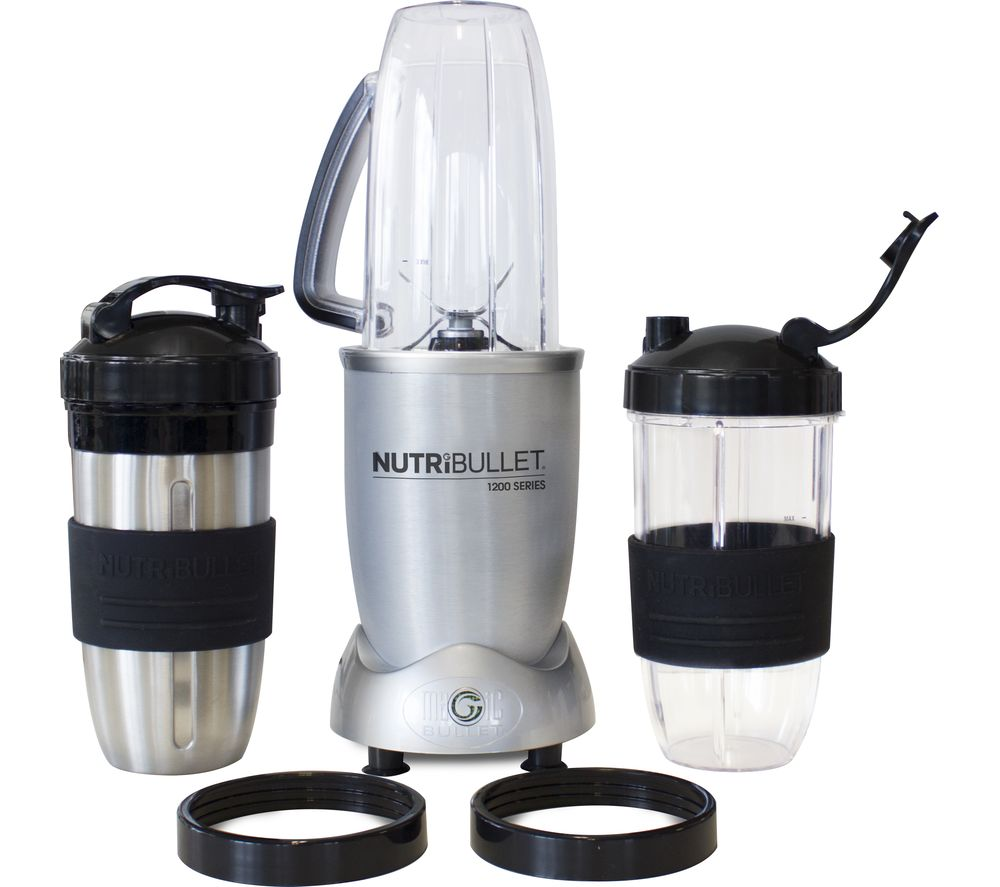 NUTRIBULLET 1200 Series Blender - Silver + Accessory Kit