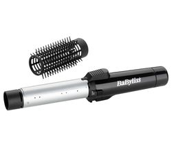 BABYLISS BAB2585U Gas Curling Tong & Brush - Black