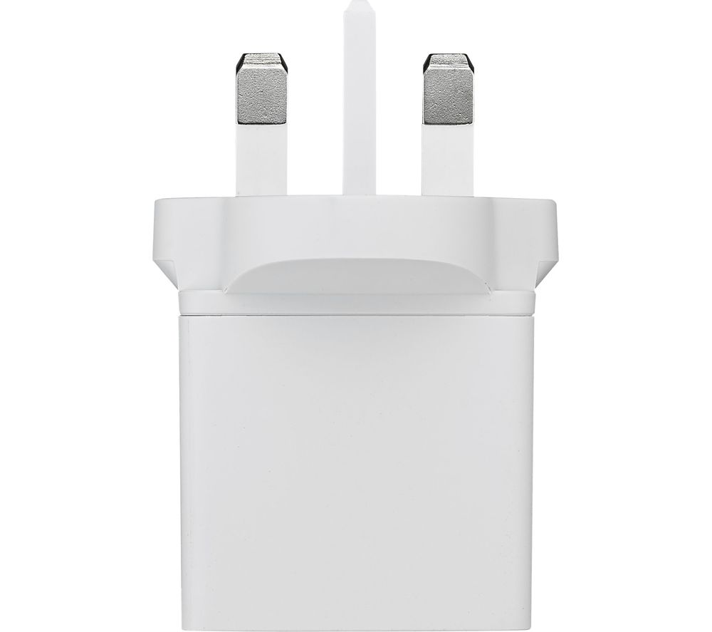 Compare retail prices of Iwantit I24MLN17 Mains USB Charger and Lightning Cable 1m to get the best deal online
